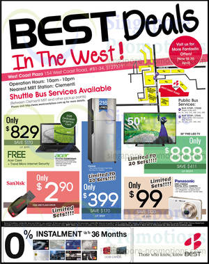 Featured image for Best Denki TV, Notebooks, Digital Cameras & Other Electronics Offers 28 – 31 Mar 2014