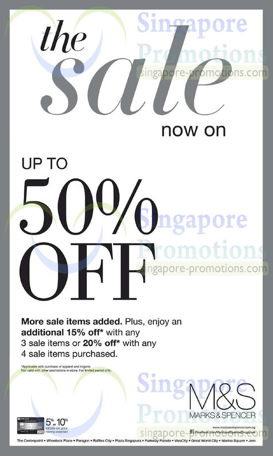 15 May More Sale Items, Additional Discounts