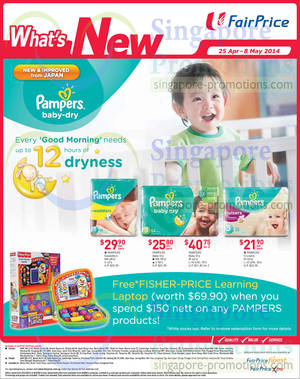 Featured image for NTUC Fairprice Electronics, Milk Powders, Wines & Groceries Offers 24 Apr – 7 May 2014