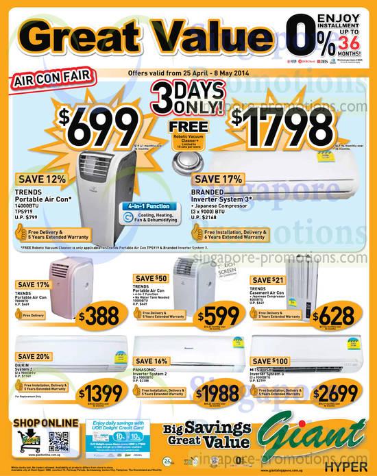 Air Conditioners, Trends, Daikin, Panasonic, Mitsubishi