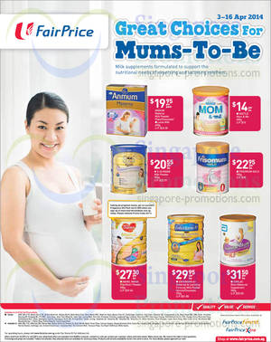 Featured image for NTUC Fairprice Personal Care, Appliances, Milk Powders, Health & Other Offers 3 – 16 Apr 2014