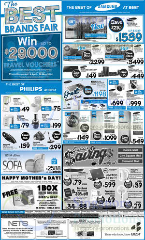 Featured image for Best Denki TV, Notebooks, Digital Cameras & Other Electronics Offers 25 – 28 Apr 2014