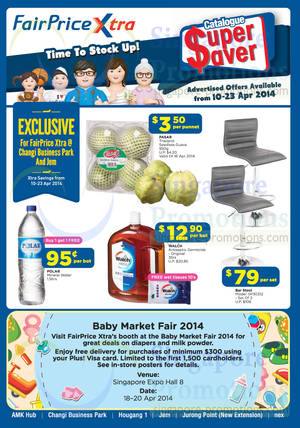 Featured image for NTUC Fairprice Electronics, Appliances, Groceries & Wines Offers 10 – 23 Apr 2014