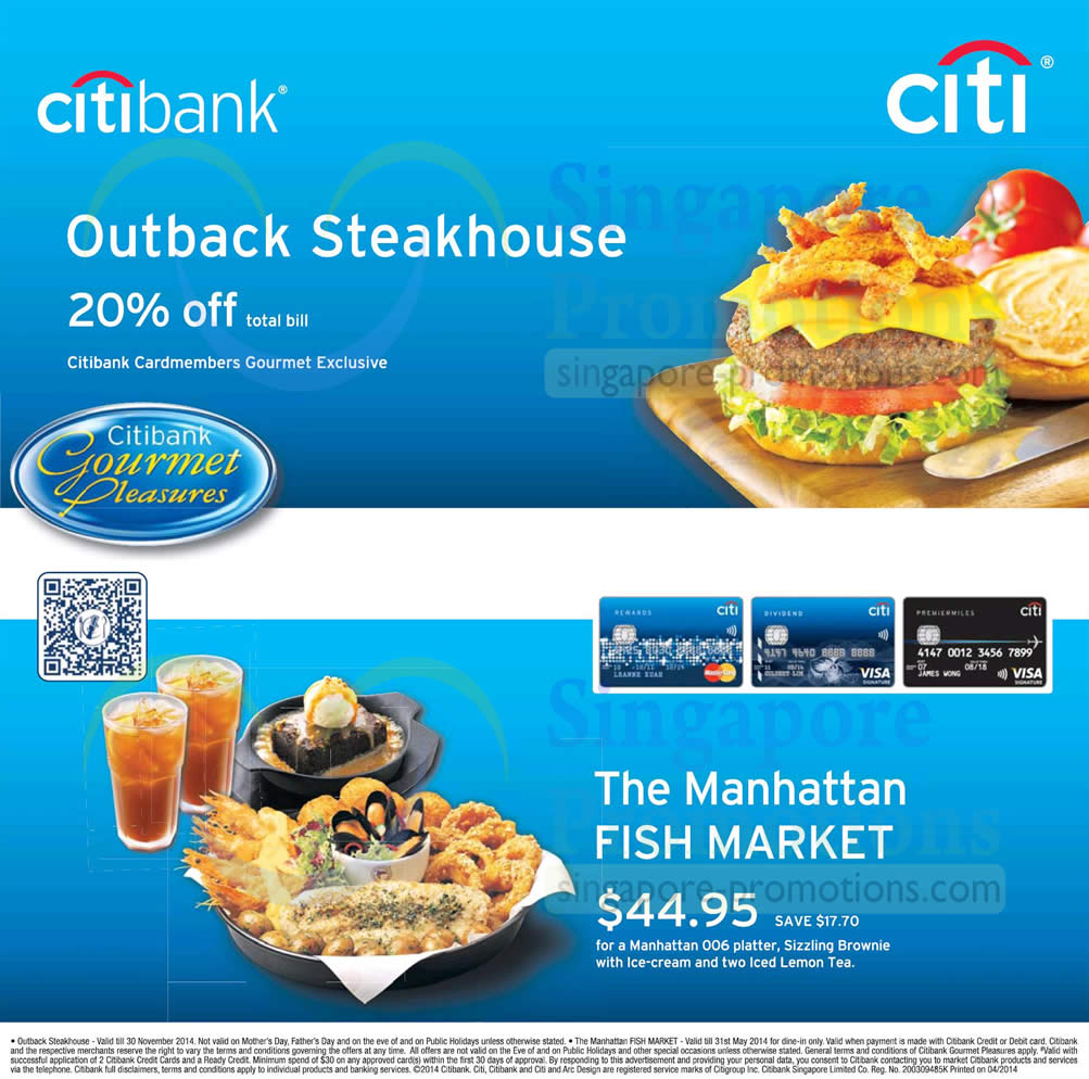 Citibank Gourmet 13 Apr 2014