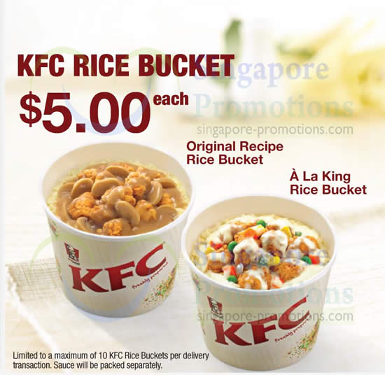 Kfc Rice Bucket Now Available For Delivery 10 Apr 2014 93252 on golf cart bags clearance