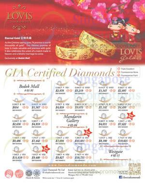 Featured image for Lovis Diamonds GIA Certified Diamond Offers 2 Apr 2014
