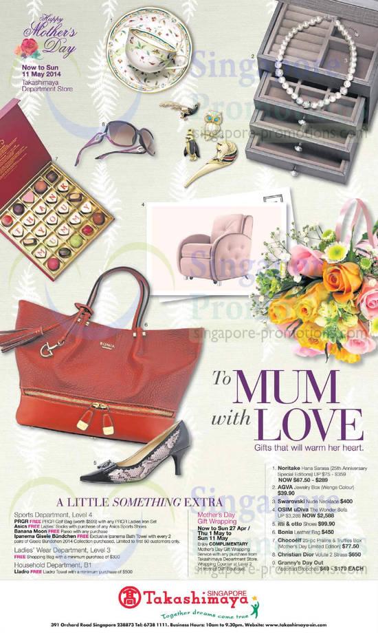 Mothers Day Fashion, Handbags, Chocolates