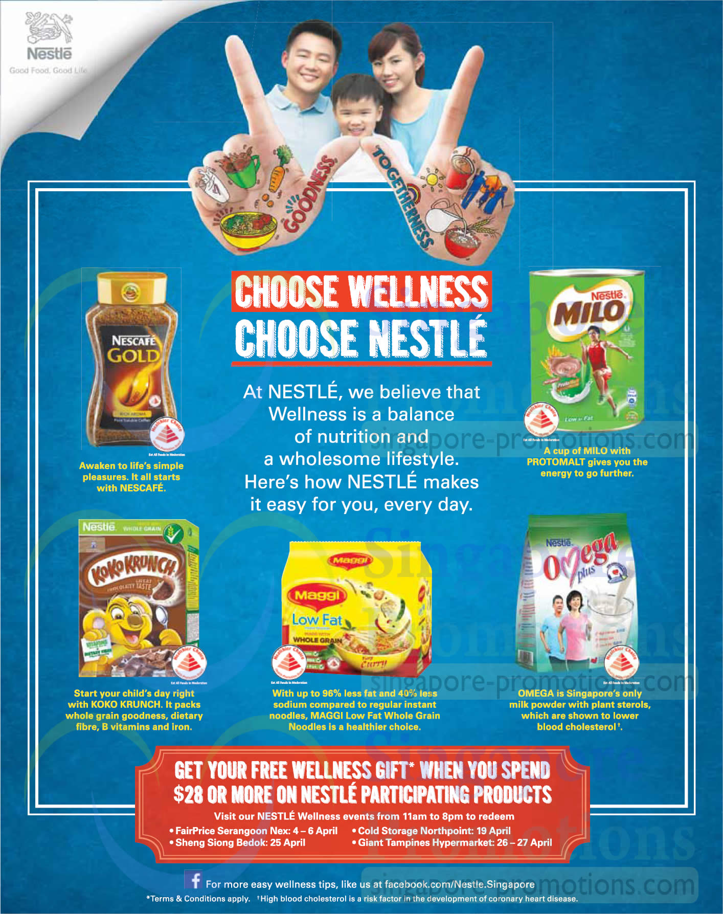 Nestle Wellness Events
