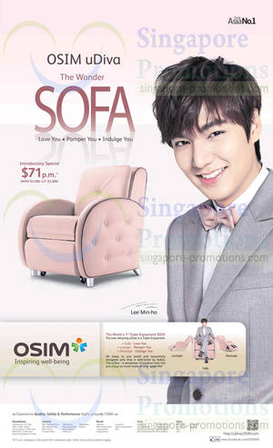 Featured image for Osim uDiva Massage Sofa Features, Price & Roadshow Info 17 Apr 2014