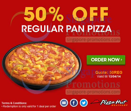 Pizza hut 50 off coupon code