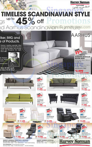 Featured image for Harvey Norman TVs, Notebooks, IT Gadgets & Appliances Offers 26 – 30 Apr 2014