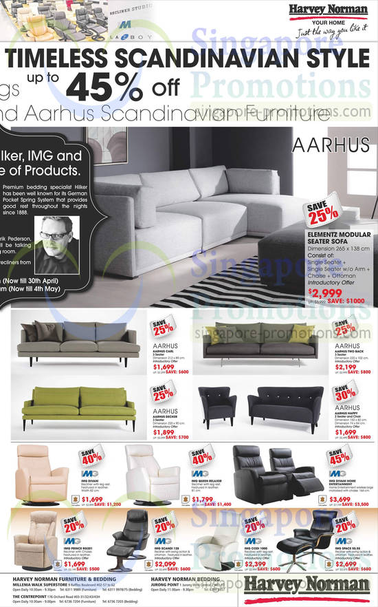Featured image for Harvey Norman TVs, Notebooks, IT Gadgets & Appliances Offers 26 - 30 Apr 2014