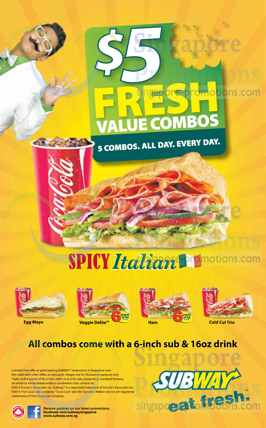 Subway Spicy Italian Sub Is Back 23 Apr 2014