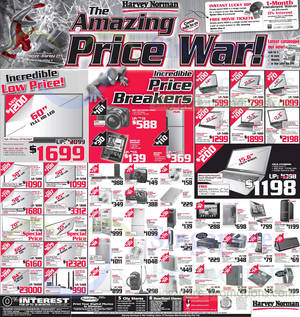 Featured image for Harvey Norman Digital Cameras, Furniture, Notebooks & Appliances Offers 5 – 11 Apr 2014