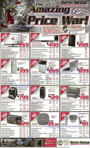Featured image for Harvey Norman Digital Cameras, Furniture, Notebooks & Appliances Offers 12 – 17 Apr 2014