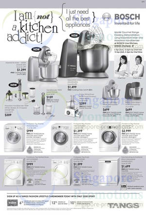 Featured image for Tangs Bosch Electronics Up To $200 FREE Voucher Promotion 4 Apr 2014