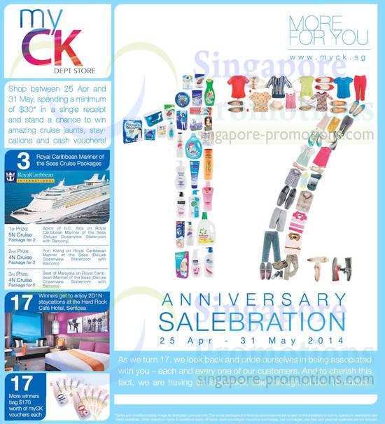 Win Amazing Cruise Jaunts, Staycations, Vouchers