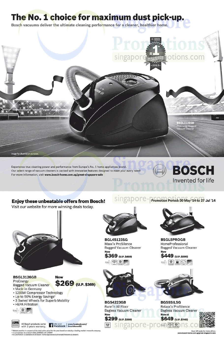 14 Jun Bosch Vacuum Cleaners ProEnergy, Maxx ProSilence, HomeProfessional,  Relaxx