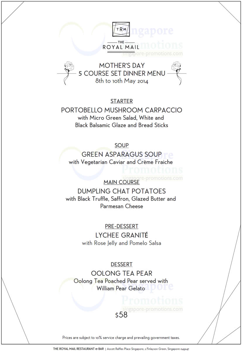 Mother S Day Deals  Restaurants
