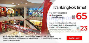 Featured image for Air Asia Bangkok From $65 All-In Air Fares Promo 6 – 11 May 2014