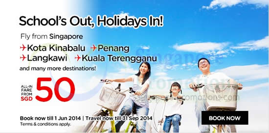 Air Asia Schools Out