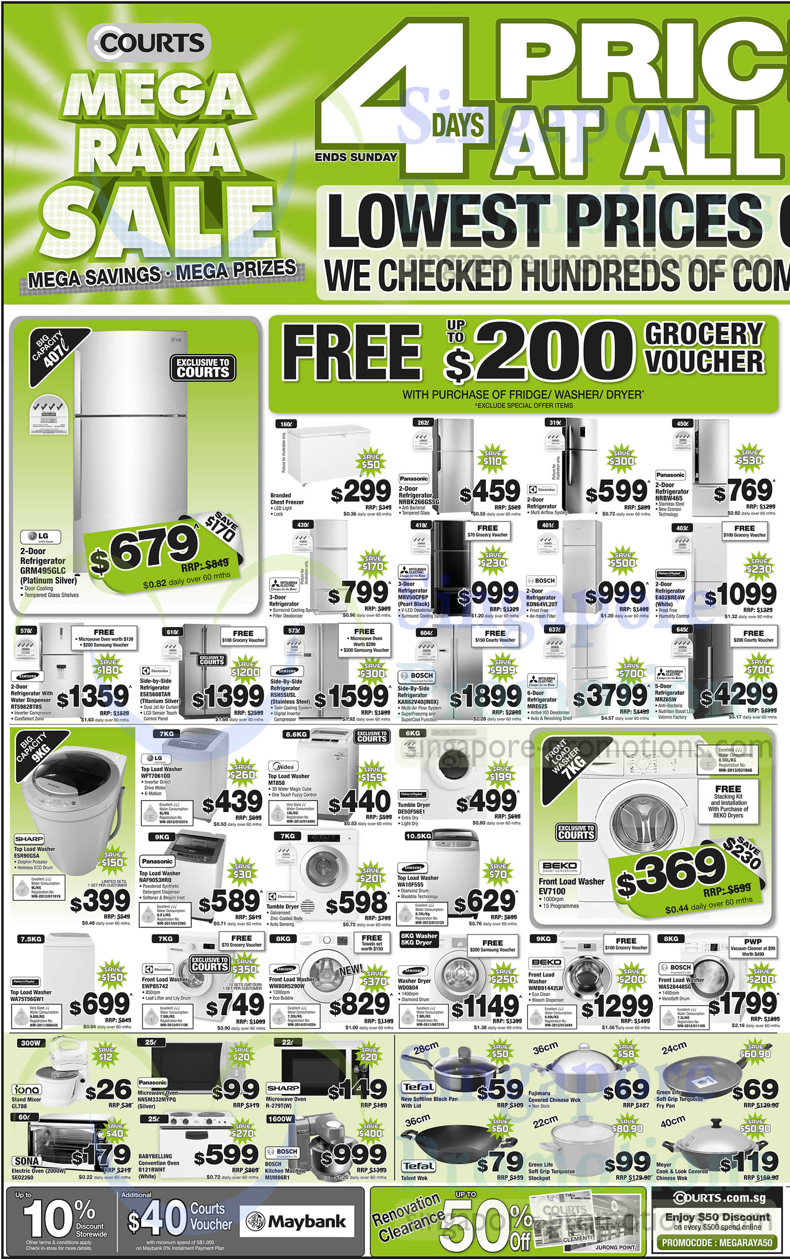Featured image for Courts Mega Raya Sale Offers 29 May - 1 Jun 2014