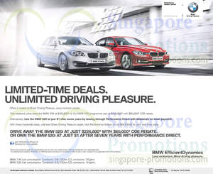 Featured image for BMW 316i Sport & BMW 520i Features & Price 17 May 2014