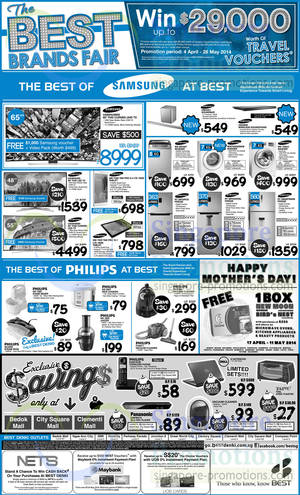Featured image for Best Denki TV, Notebooks, Appliances & Other Electronics Offers 2 – 5 May 2014