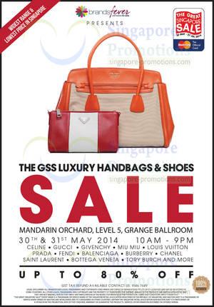 Brandsfever Handbags   Footwear Sale   Mandarin Orchard 30 – 31 May 2014 55afb7852aa3d