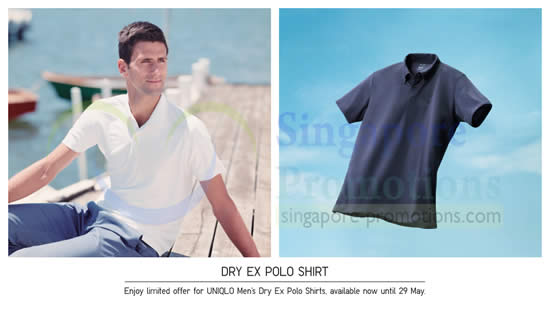 44d5abe2ada54 Uniqlo Dry EX Polo Shirts   More Promo Offers   Islandwide 23 – 29 ...