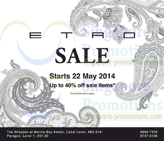 Etro 22 May 2014