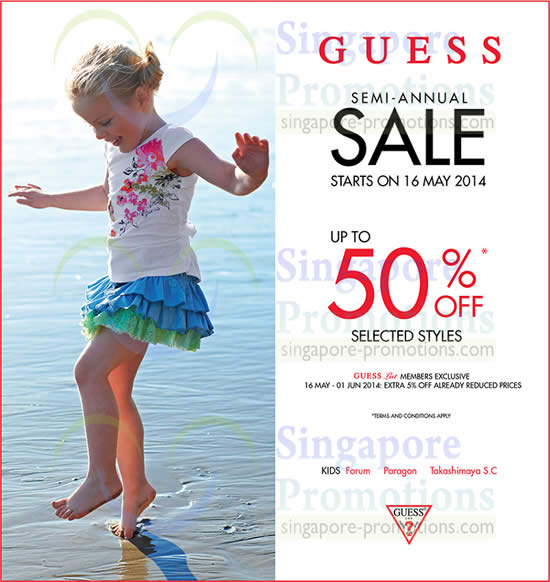 Guess Kids 15 May 2014