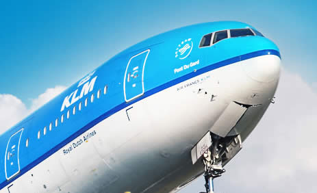 KLM Logo Airplane 19 May 2014