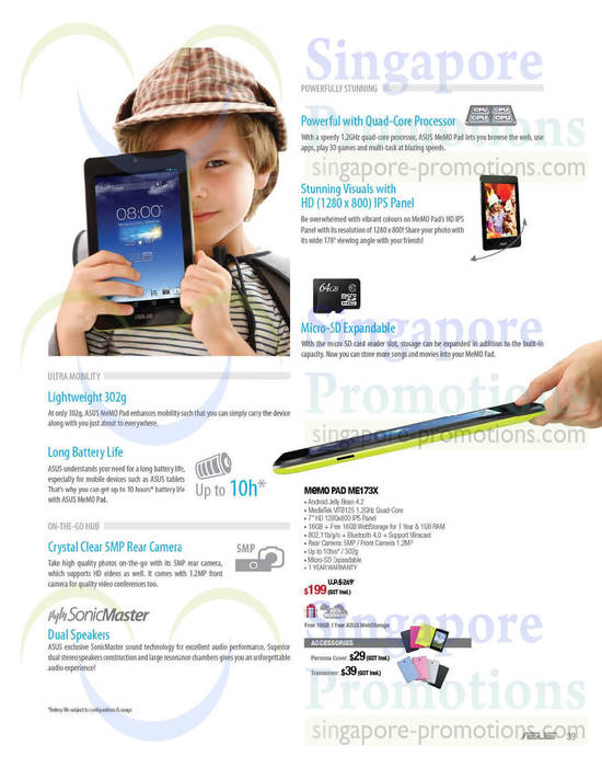 Featured image for Asus Notebooks & Tablets Offers 1 May - 30 Jun 2014