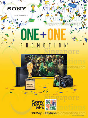 Featured image for Sony Audio Visual, Cameras, Smartphones, Tablets, Notebooks & Other Offers 16 May – 29 Jun 2014