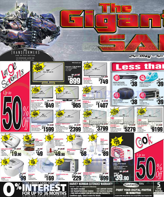 Featured image for Harvey Norman Digital Cameras, Notebooks & Appliances Offers 28 May - 3 Jun 2014