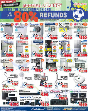 Featured image for Audio House Electronics, TV, Notebooks & Appliances Offers @ Liang Court 17 May 2014