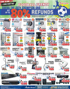 Featured image for Audio House Electronics, TV, Notebooks & Appliances Offers @ Liang Court 23 May 2014