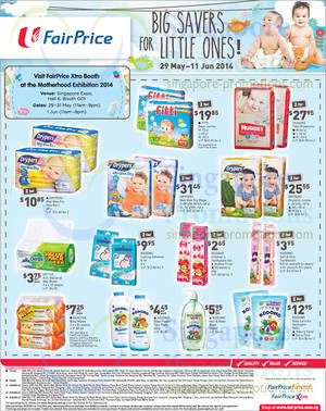 Featured image for NTUC Fairprice Electronics, Wines, Baby, Groceries & Other Offers 29 May – 11 Jun 2014