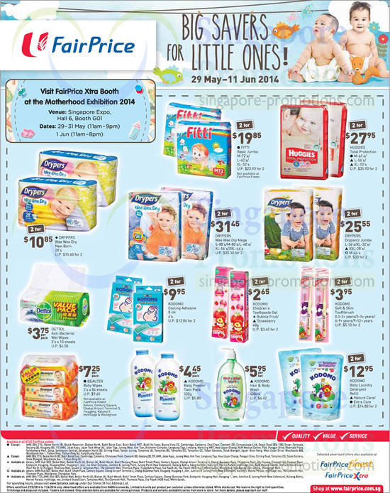 Featured image for NTUC Fairprice Electronics, Wines, Baby, Groceries & Other Offers 29 May - 11 Jun 2014