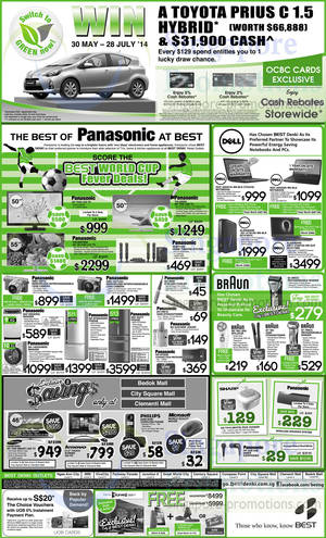 Featured image for Best Denki TV, Appliances & Other Electronics Offers 30 May – 2 Jun 2014