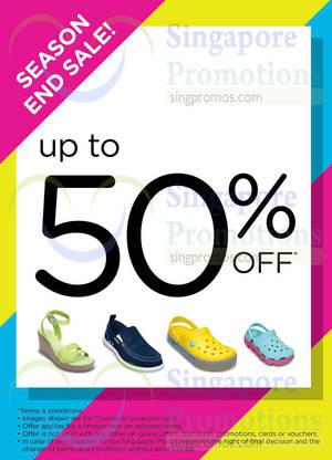 Featured image for Crocs End of Season Sale 30 Jun 2014