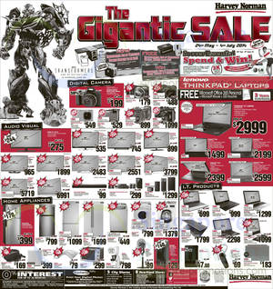Featured image for Harvey Norman Digital Cameras, Furniture, Notebooks & Appliances Offers 31 May – 6 Jun 2014