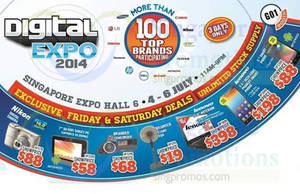 Featured image for Digital Expo 2014 @ Singapore Expo 4 – 6 Jul 2014