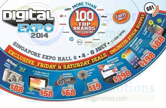Featured image for Digital Expo 2014 @ Singapore Expo 4 - 6 Jul 2014