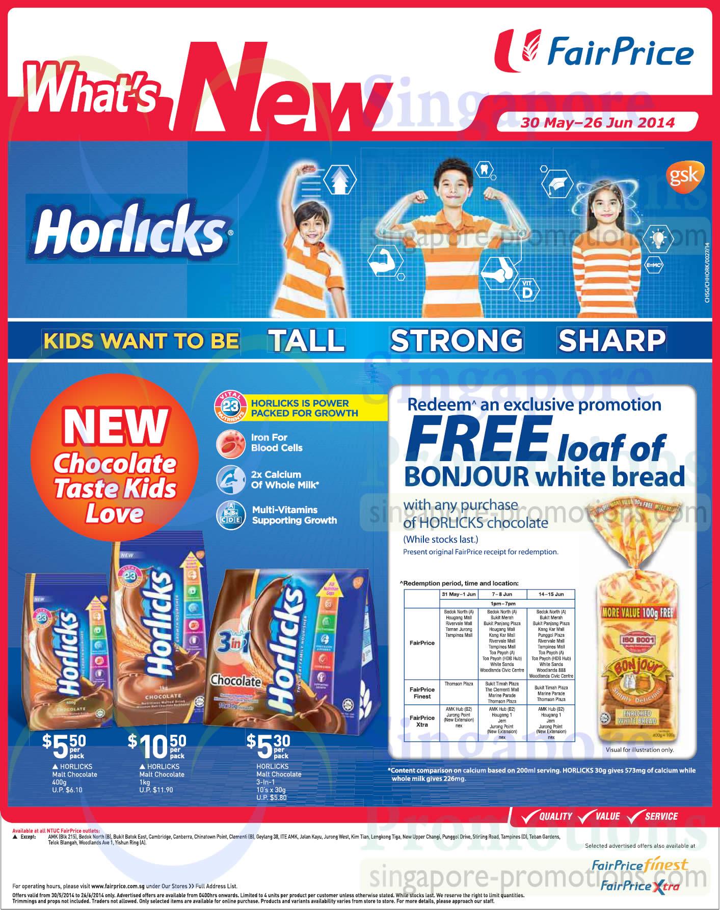 horlicks sales promotion