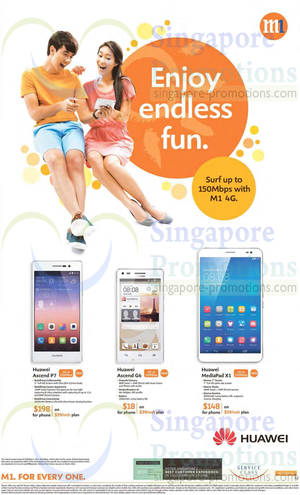 Featured image for M1 Smartphones, Tablets & Home/Mobile Broadband Offers 14 – 20 Jun 2014