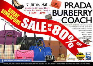 Featured image for Nimeshop Branded Handbags Sale Up To 80% Off @ Mandarin Orchard 7 Jun 2014