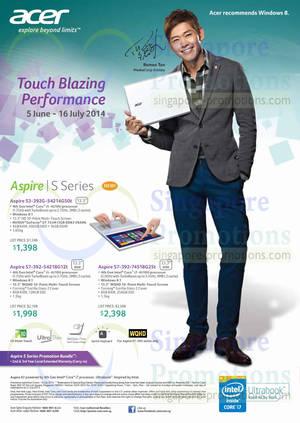 Featured image for Acer Notebooks, Desktop PCs, Tablets & Monitors Price List 5 Jun – 16 Jul 2014