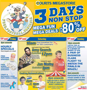 Featured image for Courts Mega Raya Sale Offers 14 – 15 Jun 2014